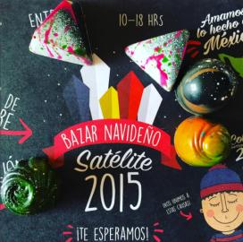 Bazar Navideño Satélite 2015.